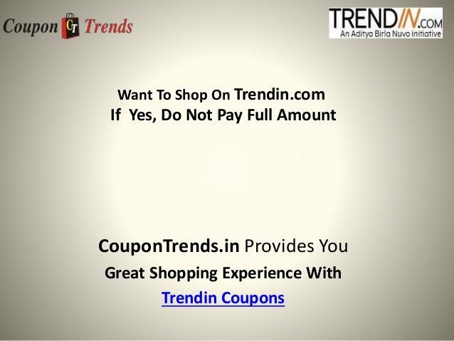 Trendin online shopping