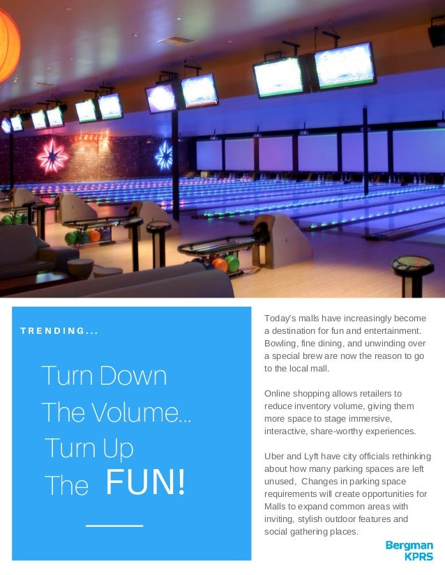 Trending turn down the volume - turn up the fun