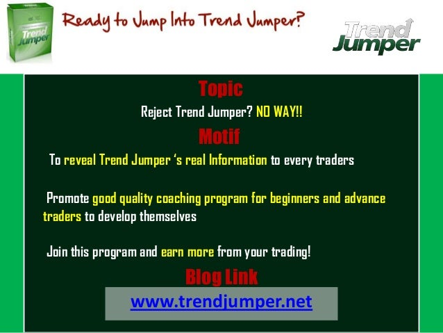 Ptu trend jumper trading system review