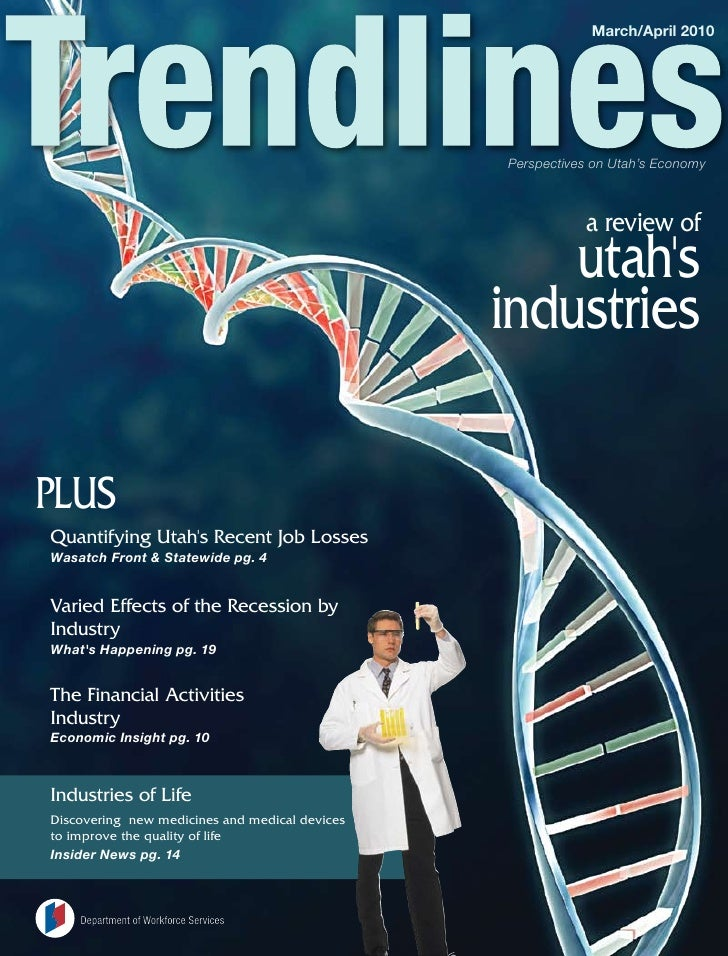 March/April 2010                                                     Perspectives on Utah's Economy                       ...