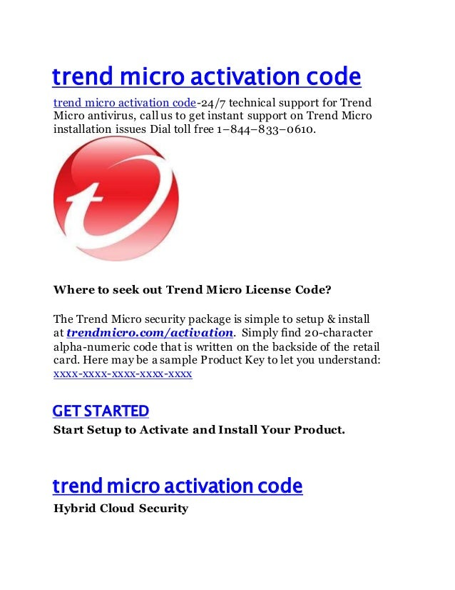 Trend  Micro Maximum Security 5 Devices 2019 1 Year Unique Global Key Code