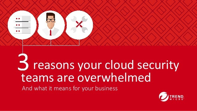 And  what  it  means  for  your  business 	   	   	   	   reasons	   your	   cloud	   security	    teams	   are	   overwhe...