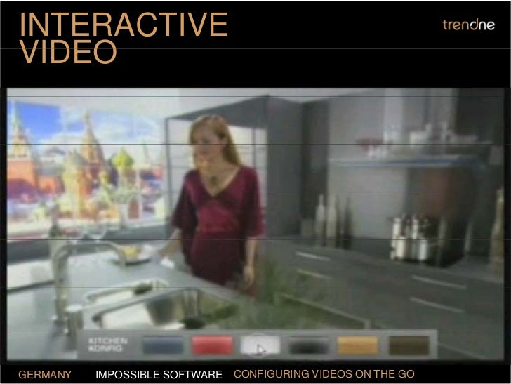 INTERACTIVE VIDEO     GERMANY   IMPOSSIBLE SOFTWARE   CONFIGURING VIDEOS ON THE GO