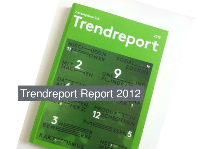 Trendreport Report 2012