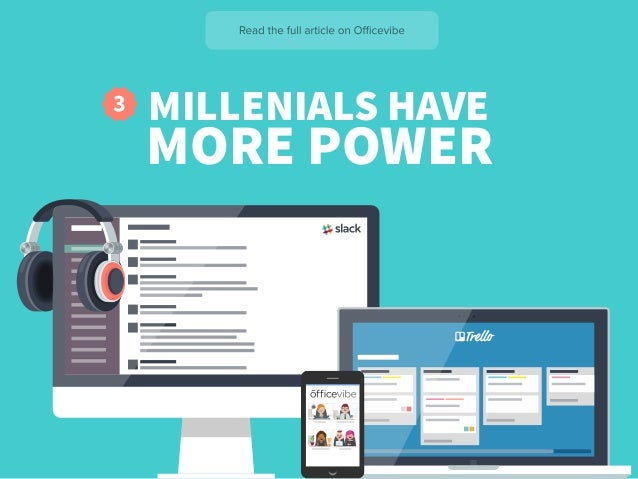 MILLENIALS HAVE MORE POWER