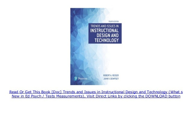 Doc Trends And Issues In Instructional Design And Technology What
