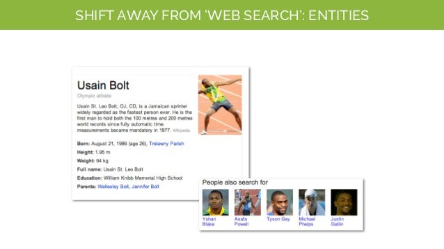 SHIFT AWAY FROM 'WEB SEARCH': DIRECT ANSWERS