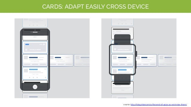 CARDS: NEW MOBILE INTERFACE