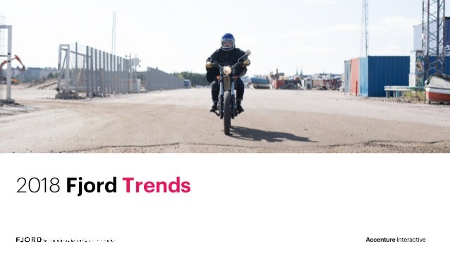 2018 Fjord Trends