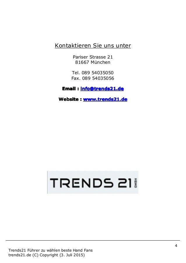 4 Trends21 Führer zu wählen beste Hand Fans trends21.de (C) Copyright (3. Juli 2015) Kontaktieren Sie uns unter Pariser St...