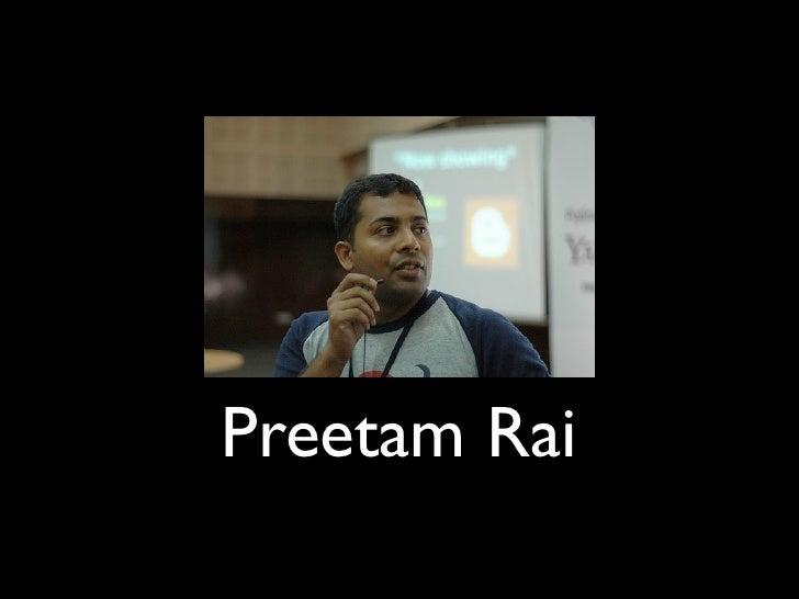 Preetam Rai