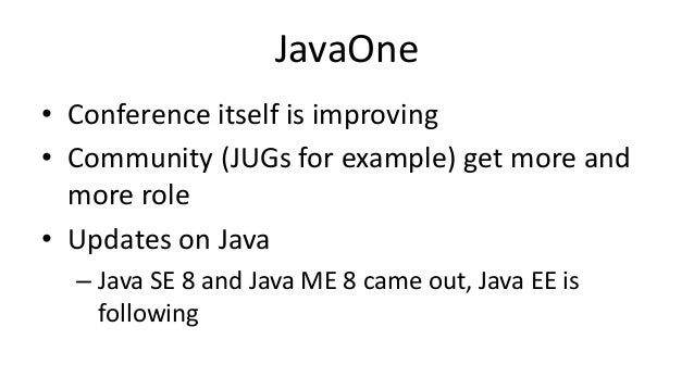 Trends And Future Of Java