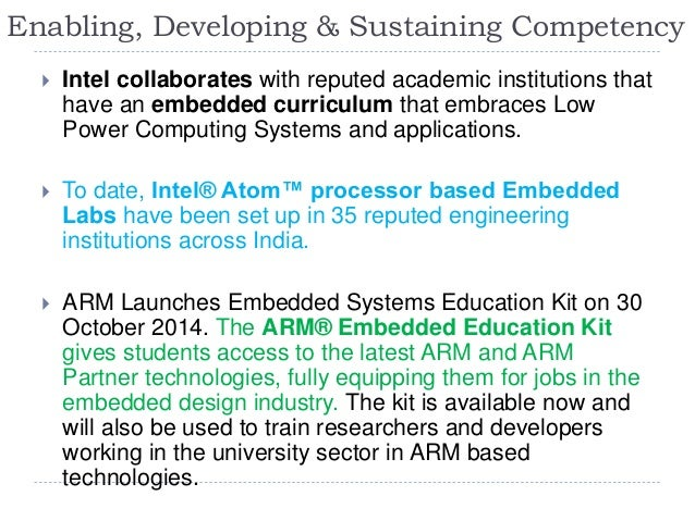 Trends And Innovations In Embedded System Education