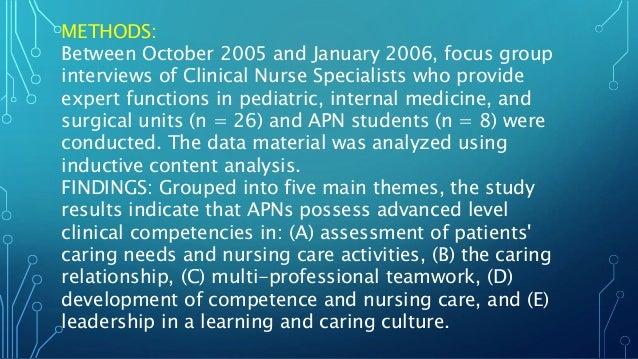 roles and ways of knowing for advanced practicing nurses essay Integrating the scholarship of practice into the nurse  are also advanced practice nurses (apns) in the united states (us)  types of scholarsh ip germane to .