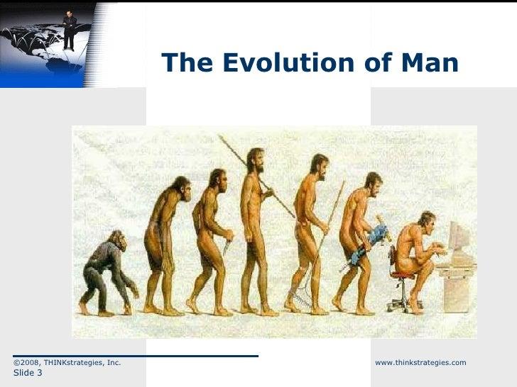 The Evolution of Man ©2008, THINKstrategies, Inc.  www.thinkstrategies.com Slide