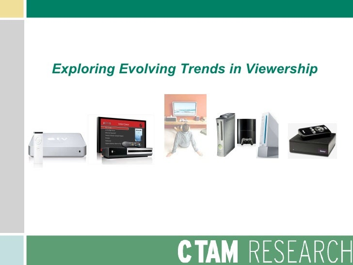 Exploring Evolving Trends in Viewership