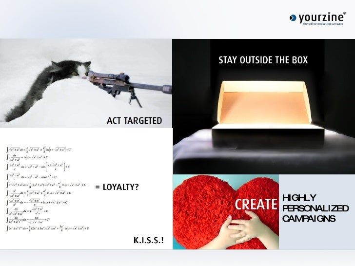 HIGHLY PERSONALIZED CAMPAIGNS
