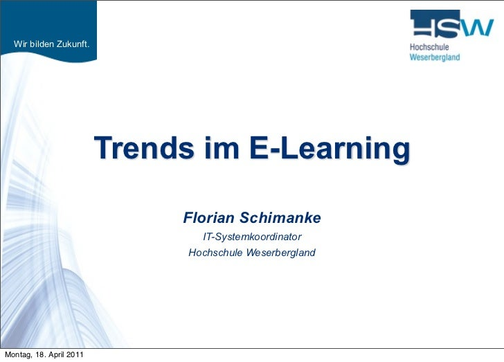 Trends im E-Learning
