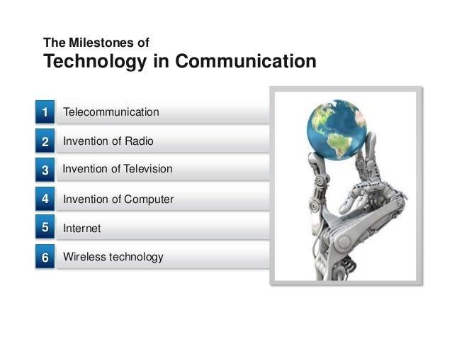 Trends in communication technology Slide 3