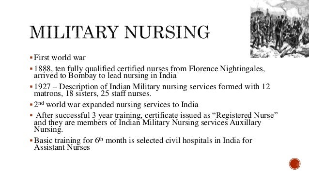 Trends in development of nursing education in india