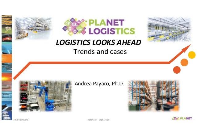 Trends in logistics warehouse management payaro