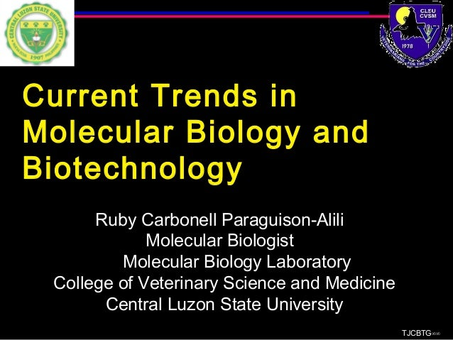 recent trends in biotechnology pdf