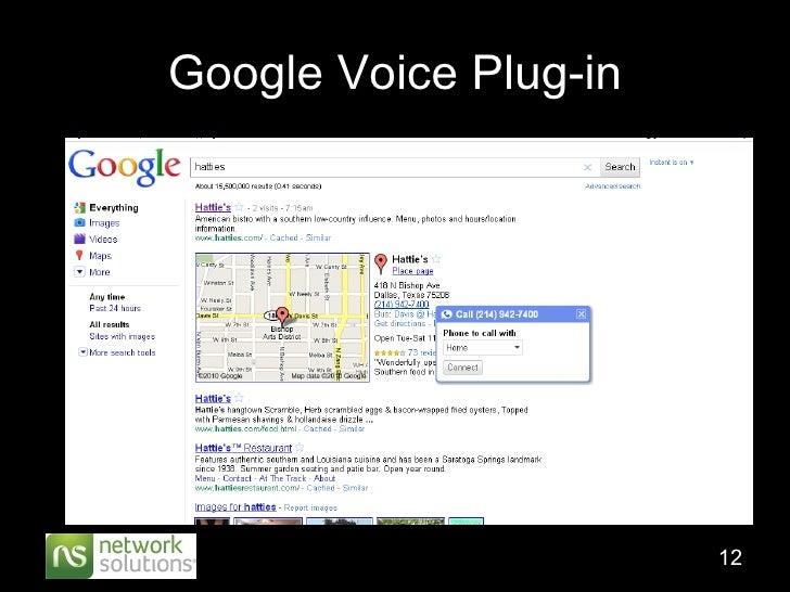 Google Voice Plug-in