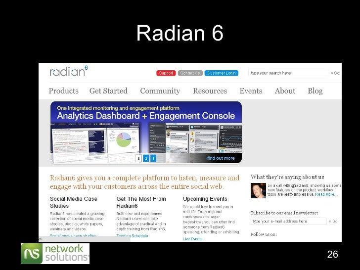 Radian 6