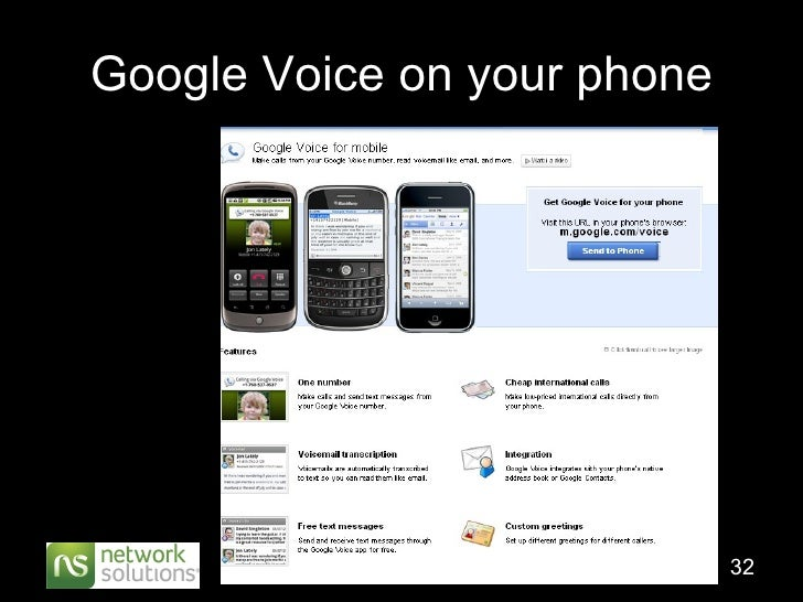 Google Voice on your phone