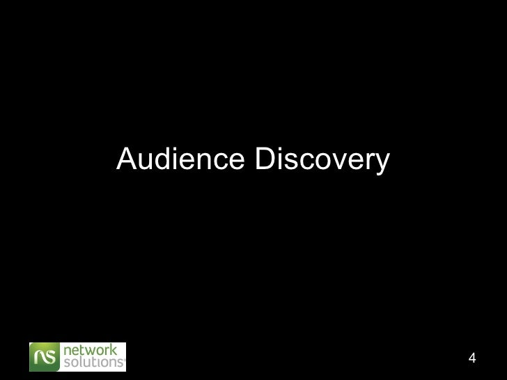 Audience Discovery