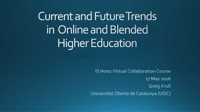 Part I: Preparing for Universities of the Future Part II: Preparing for more integrated use of technologies in teaching an...