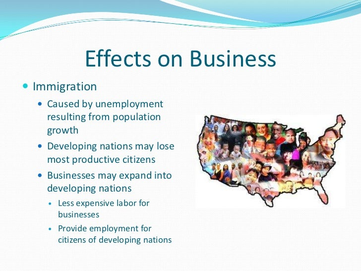 Trends in population growth & its effects on