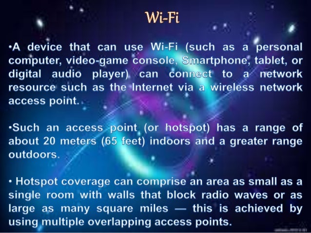 Trends in wireless computing
