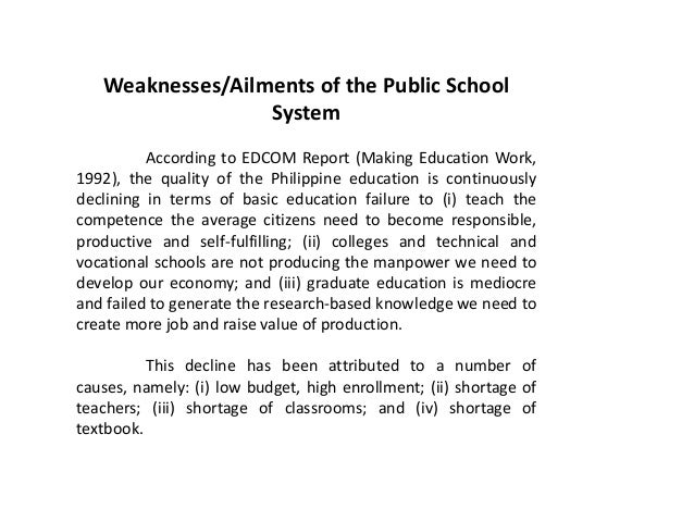 problem on how filipino value education The key issues and problems in philippine education which need further debate  and depth analysis as  list of general filipino values you need to know.
