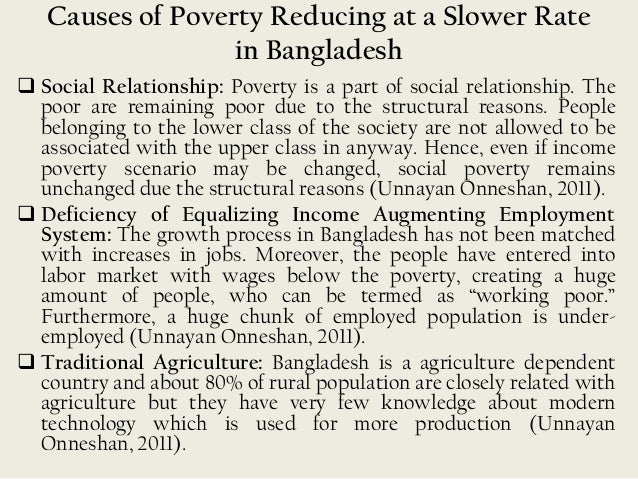 rural poverty in bangladesh trends and With poverty and current trends 3 rural employment, gender and poverty 20 16 box ii-3 microcredit schemes in bangladesh 88.