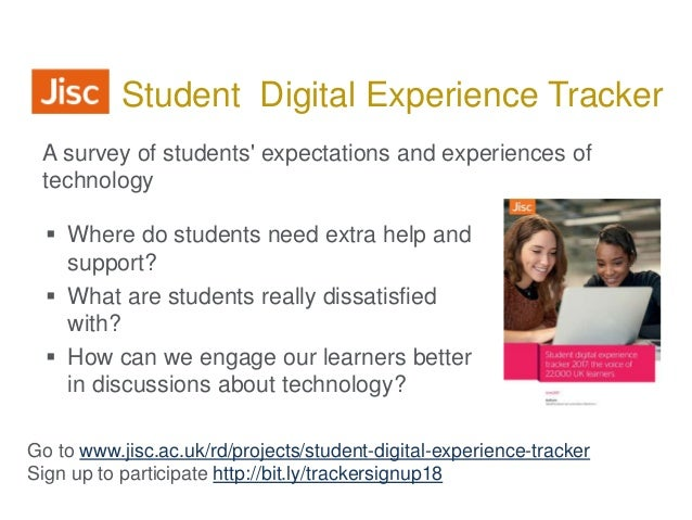  Where do students need extra help and support?  What are students really dissatisfied with?  How can we engage our lea...