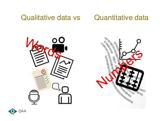 Qualitative data vs Quantitative data