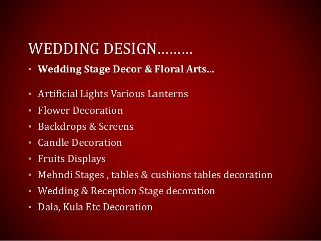 Trend spotting and future forecasting of 2nd innings wedding design junglespirit Gallery