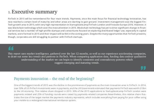Accelerating the change: London FinTech 2015-2016 Trend Report Slide 3