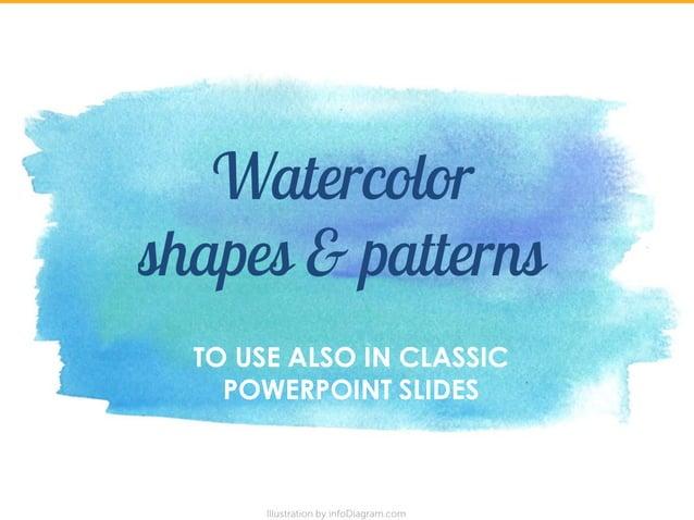 Flat Retro Watercolor