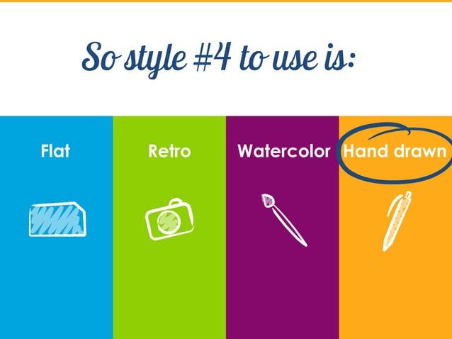 Trends in slide design - beyond flat style?