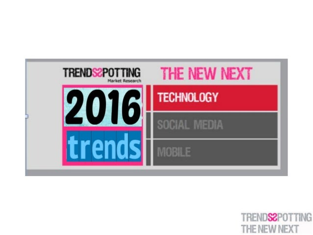TrendsSpotting Annual Prediction Report reviews upcoming trends and their implications. Looking at 2015 – we aim at figuri...