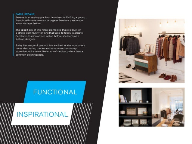 INSPIRATIONAL FUNCTIONAL PARIS, SÉZANE Sézane is an e-shop platform launched in 2013 by a young French self-made woman, Mo...