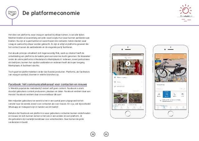 Het idee van platforms, waar vraag en aanbod bij elkaar komen, is van alle tijden. Markten bieden al eeuwenlang een plek w...