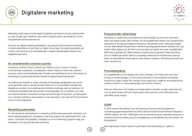 Marketing wordt meer en meer digital. Budgetten verschuiven al jaren steeds verder op naar Google, naar Facebook, naar onl...