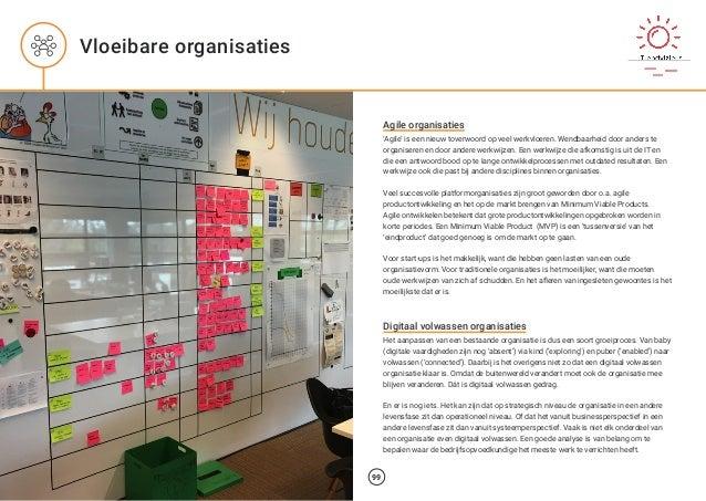 Agile organisaties 'Agile' is een nieuw toverwoord op veel werkvloeren. Wendbaarheid door anders te organiseren en door an...