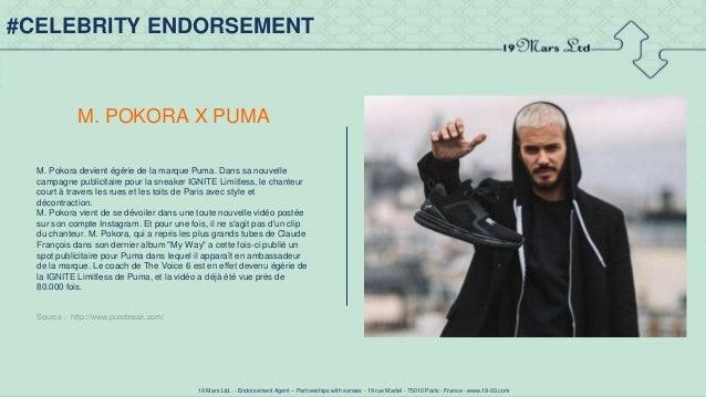 M. Pokora devient égérie Puma et court sur les toits de