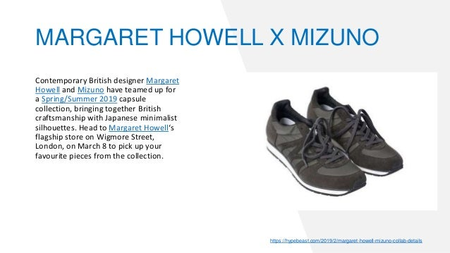 cb8b6c27d0 ... SNEAKERWOLF; 57. Contemporary British designer Margaret Howell and  Mizuno ...