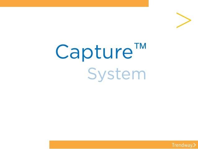Capture™ System >