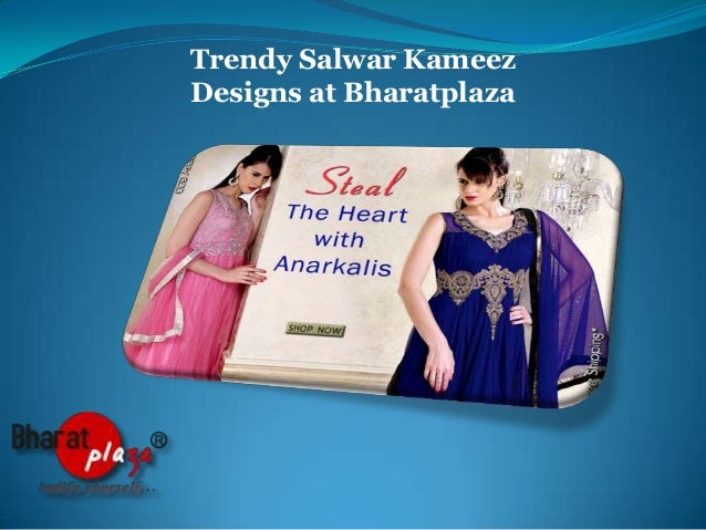 Trendy Salwar Kameez Designs at Bharatplaza
